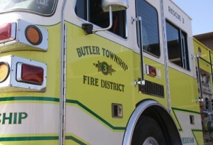Butler Township Fire District Truck