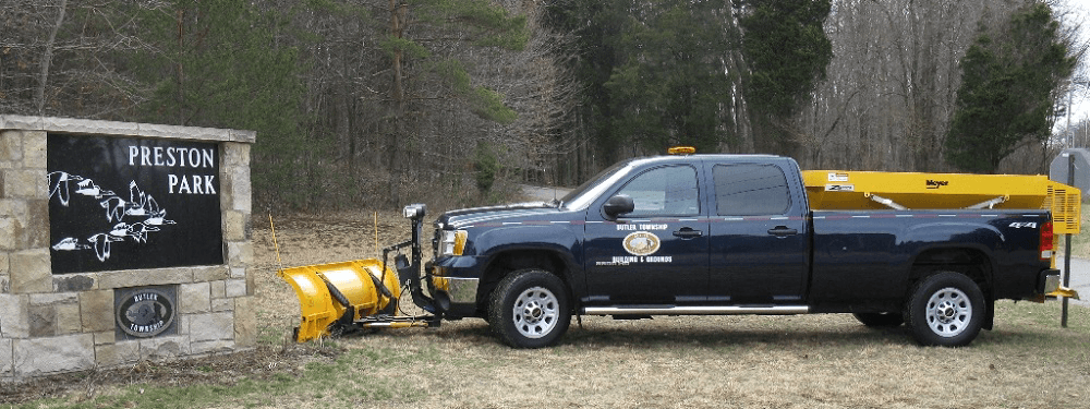 Butler Township Grounds Truck