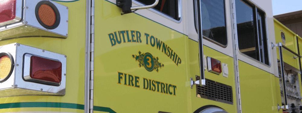 Butler Township Fire Truck