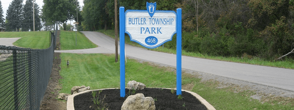 Butler Township Park Sign